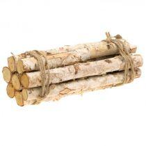 Discos de madera y corteza