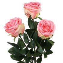 Rosas de espuma y seda