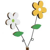 Flor de madera Deco-cut H44cm 6pcs
