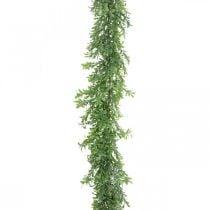 Guirnalda de plantas artificiales, zarcillo de boj, verde decorativo L125cm