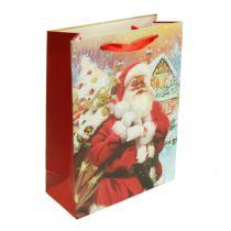 Bolsa de regalo de Papá Noel 32cm x 26cm x 10cm