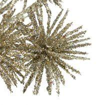 Allium con mica champagne Ø18cm L70cm