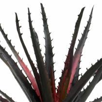 Aloe vera artificial violeta 26cm