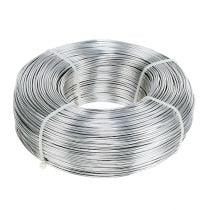 Alambre de aluminio 1,5 mm 1 kg plateado