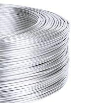 Alambre de aluminio 1mm 500g plata