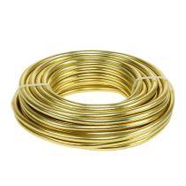 Alambre de aluminio 5mm 500g oro
