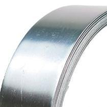 Alambre de aluminio alambre plano plateado 30mm 3m