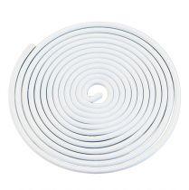 Tornillo de alambre de aluminio tornillo de metal blanco 2mm 120cm 2pcs