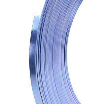 Alambre plano aluminio lila 5mm 10m