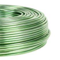 Alambre de aluminio Ø2mm 500g 60m Verde menta