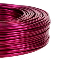 Alambre de aluminio Ø2mm 500g 60m rosa