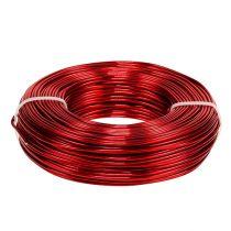 Alambre de aluminio Ø2mm 500g 60m rojo