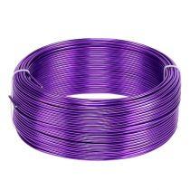 Alambre de aluminio Púrpura Ø2mm 500g (60m)