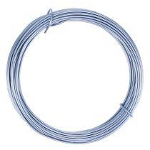 Alambre de aluminio azul pastel Ø2mm 12m