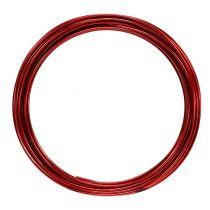 Alambre de aluminio 2mm 100g rojo