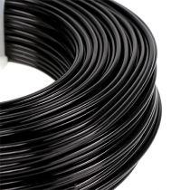 Alambre de aluminio Ø2mm 500g 60m negro