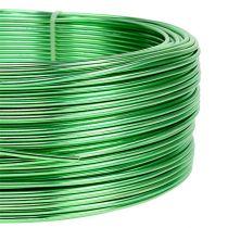 Alambre de aluminio Ø2mm verde 500g (60m)