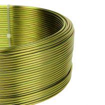 Alambre de aluminio Ø2mm verde oliva 500g (60m)