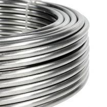 Alambre de aluminio 5mm 1kg plateado
