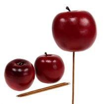 Manzana artificial roja Ø7.5cm 6pcs