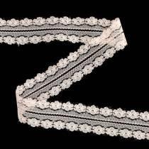 Cinta de encaje cinta decorativa rosa 20m 3cm envoltura de regalos