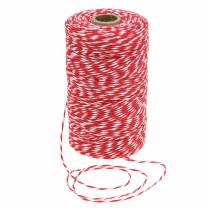 Cuerda rojo / blanco 220m