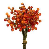 Baya racimo naranja L20cm