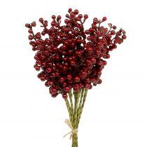 Berry pick rojo 23cm 12pcs