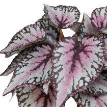 Begonia Artificial arbusto Burdeos 37cm