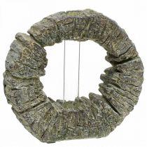 Jarrón de hormigón con anillo de tubo de ensayo Ø16cm