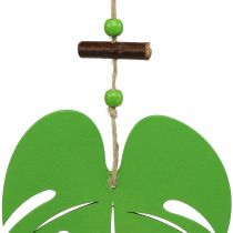 Hoja 14.5cm para colgar verde