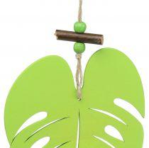 Hoja para colgar verde claro 14.5cm