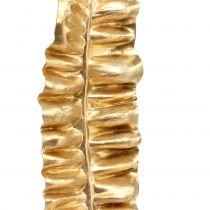 Hoja de helecho dorado 87cm