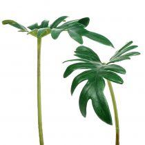 Hoja Philodendron 31cm Verde 12pcs