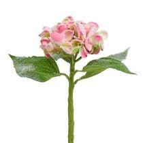 Hydrangea Pink nevado 33cm 4pcs