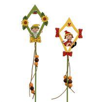 Tapón de flores dragón con niño 8cm L30cm 12pcs