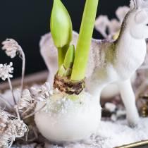 Cera de inmersión de flores 1 kg blanco