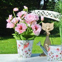 Jardinera de metal sombreros para el sol jardinera de decoración de primavera Ø11.5cm H10.5cm