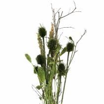 Ramo de flores silvestres natural, verde 25–60cm 70g