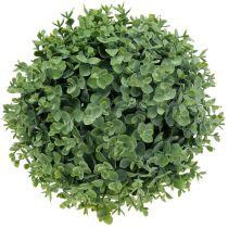 Bola de boj artificialmente verde Ø32cm
