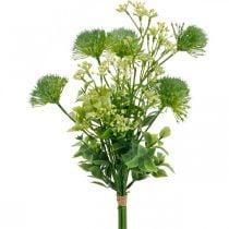 Flores de seda, ramo artificial, decoración floral con cardos 40cm