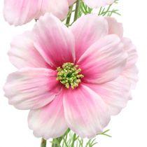 Cosmea artificial rosa 77cm 3pcs
