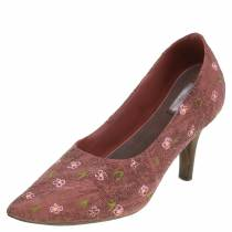 Zapato de salón de zapato de plantación deco marrón 24cm × 8cm H13.6cm