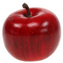 Manzana decorativa rojo brillante 4.5cm 12pcs