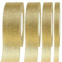 Banda decorativa dorada diferentes anchos 22,5m