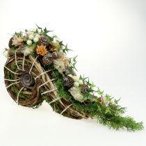 Jardinera para decoración de tumbas 22cm x 40cm 1pc