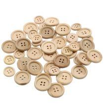 Botones decorativos naturaleza 1,5cm - 2,5cm 150pcs