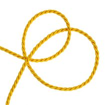 Cordon decorativo en amarillo 4mm 25m