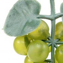 Uvas decorativas pequeño verde 10cm