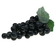 Uvas decorativas negras 18cm